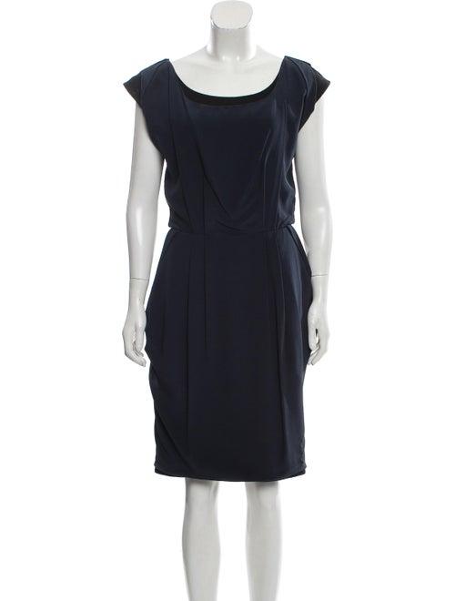 Wool Layered Dress by Fendi