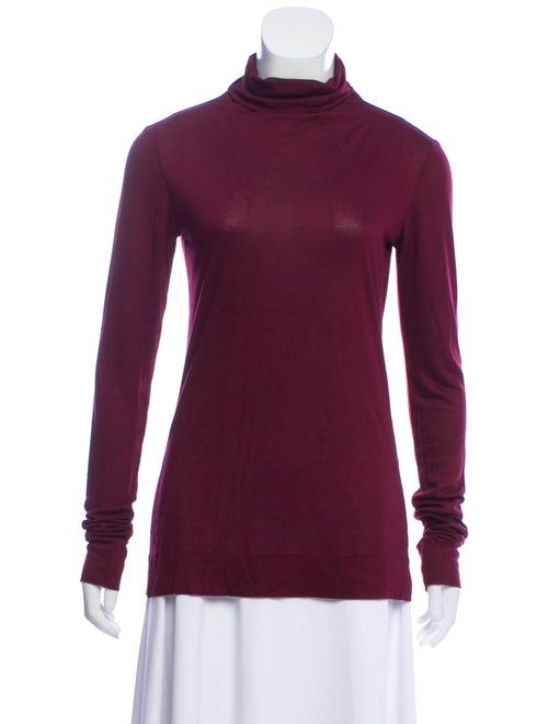 Fendi Turtleneck Long Sleeve Top