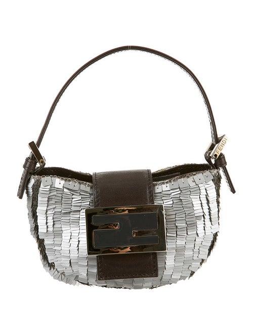 31cea933732f Fendi Sequin Mini Croissant Bag - Handbags - FEN12314