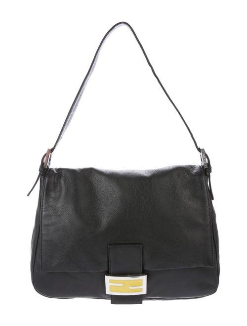 Fendi Leather Mama Forever Bag Black