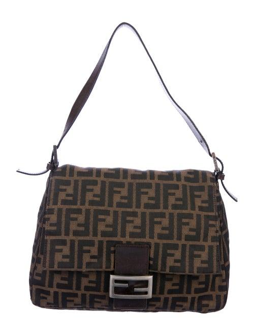Fendi Zucca Mama Forever Bag brown
