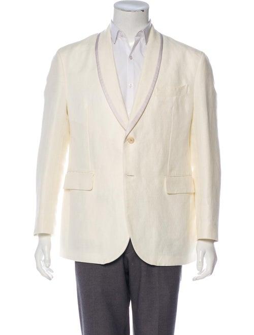 Fendi Satin Tuxedo Jacket