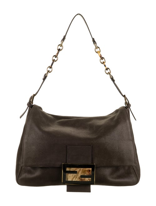 Fendi Nubuck Mama Forever Bag gold