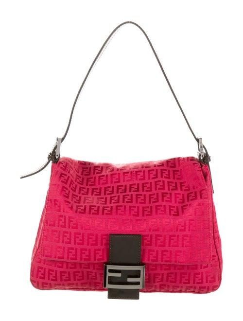 Fendi Zucchino Mama Forever Bag Red