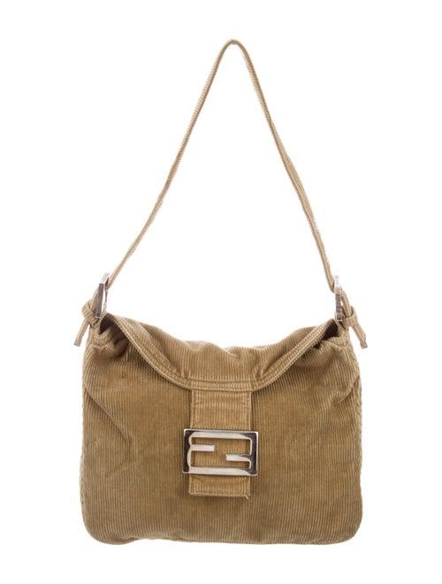 Fendi Corduroy Mama Forever Bag Beige