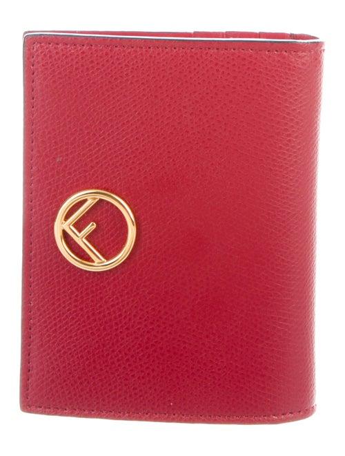 Fendi F is Fendi Compact Wallet Red