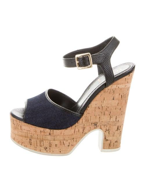 Fendi Sandals Black