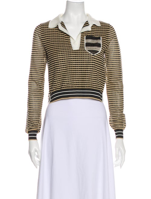 Fendi Knitwear Pullover Silk Sweater