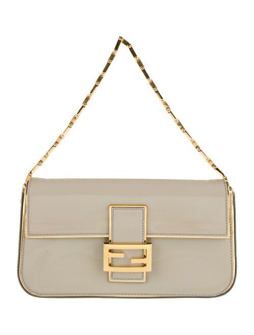 Fendi Patent Leather Baguette gold