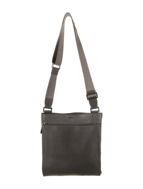 Fendi Elite Messenger Bag Grey