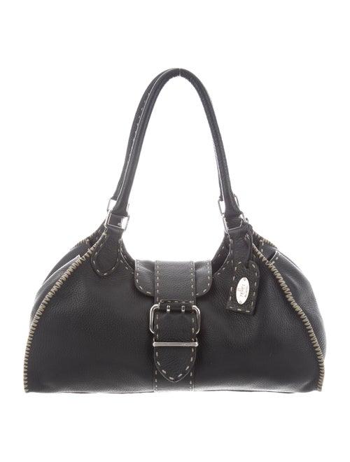 Fendi Selleria Sporty Bag Black