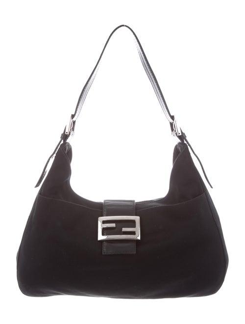 Fendi Cotton Mamma Baguette Black