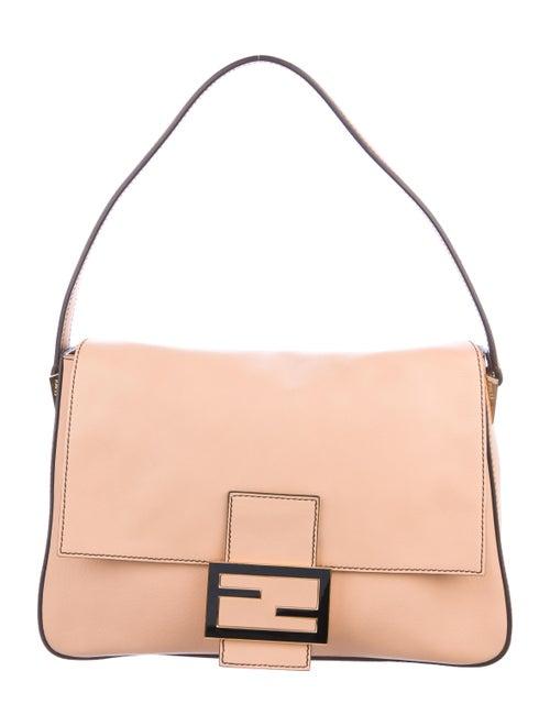 Fendi Leather Mama Forever Bag Tan