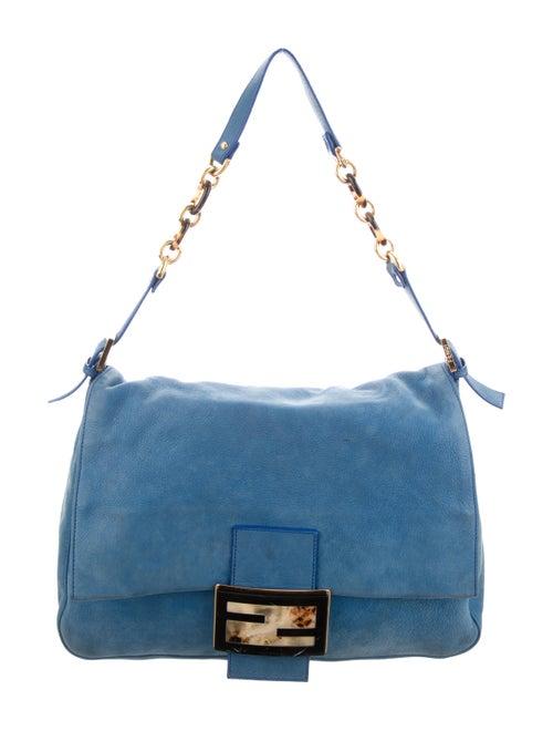 Fendi Calfskin Mama Forever Bag gold
