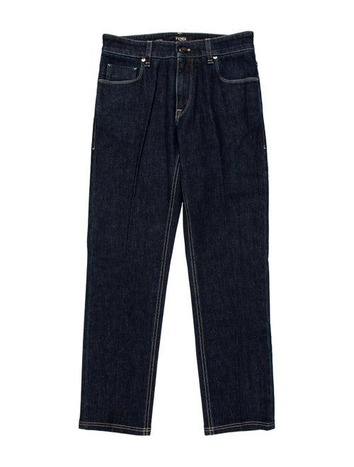 Fendi Skinny Jeans Blue