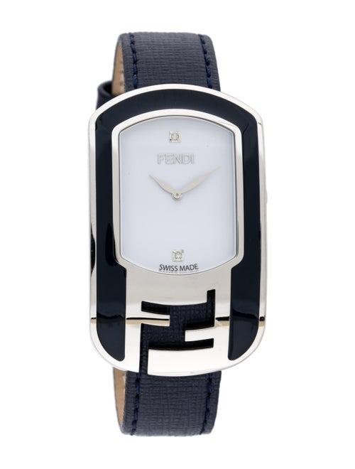 Fendi Chameleon Watch white
