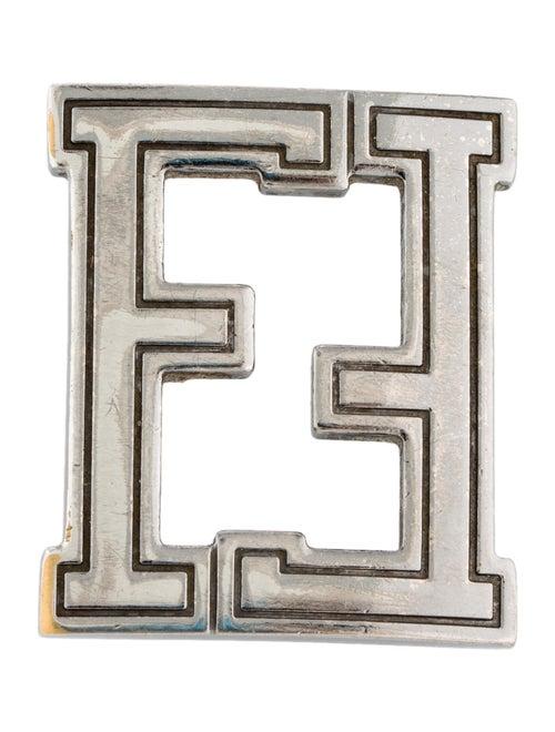 Fendi FF Buckle silver