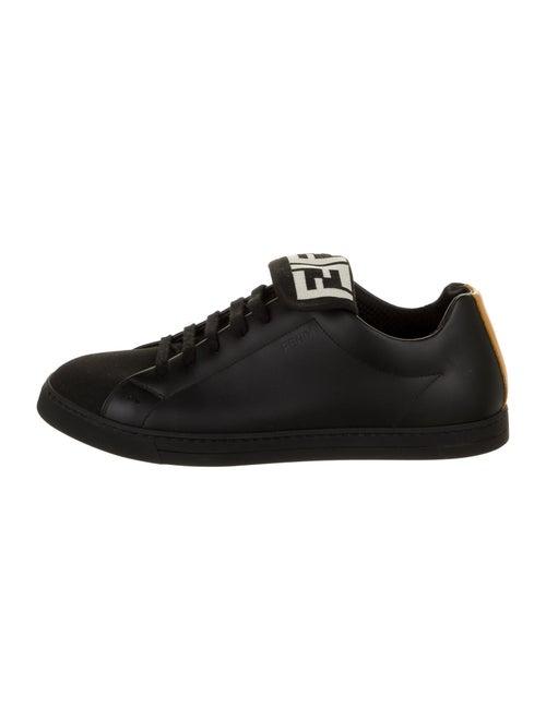 Fendi Leather Sneakers Black