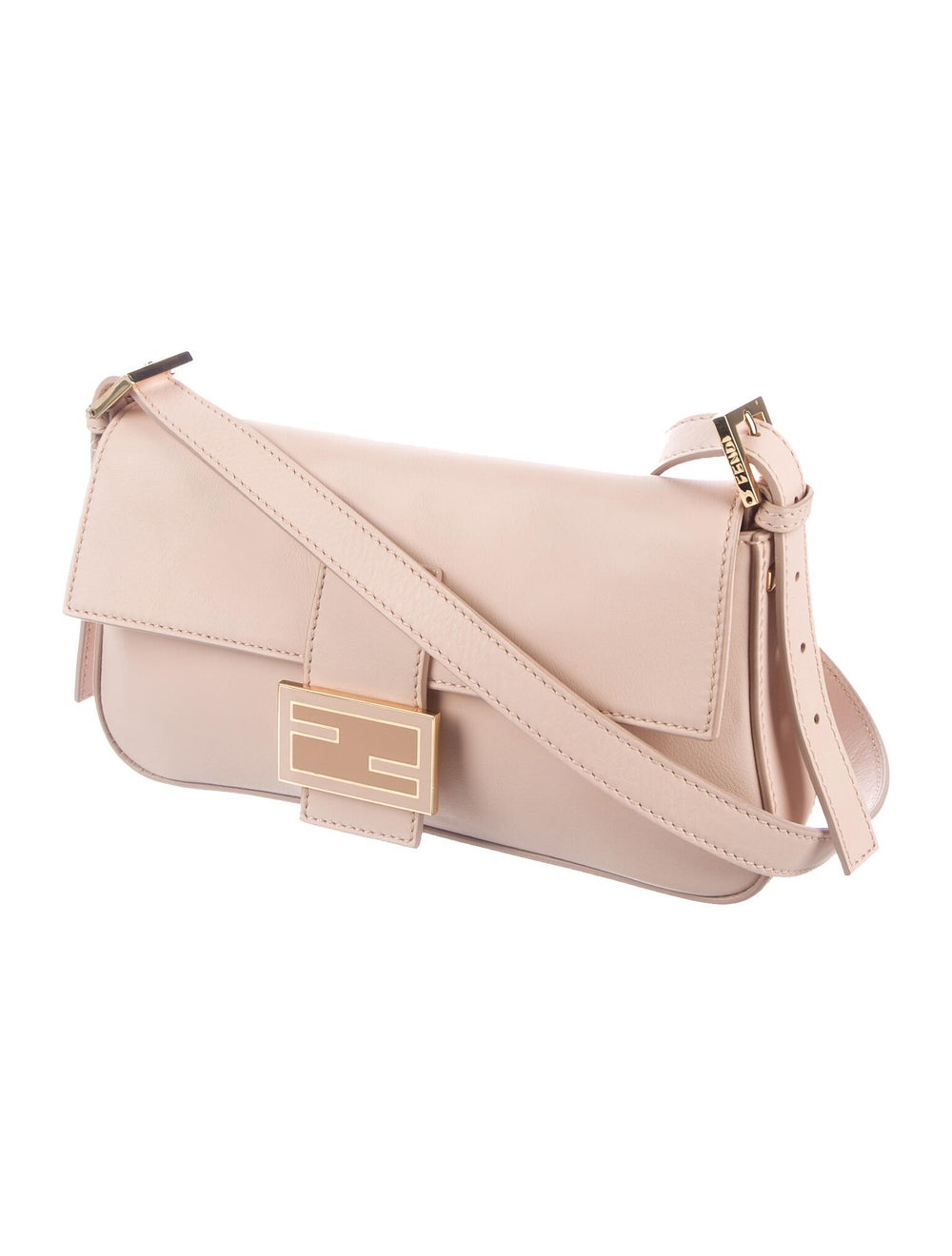 Fendi Smooth Leather Baguette Pink - image 3