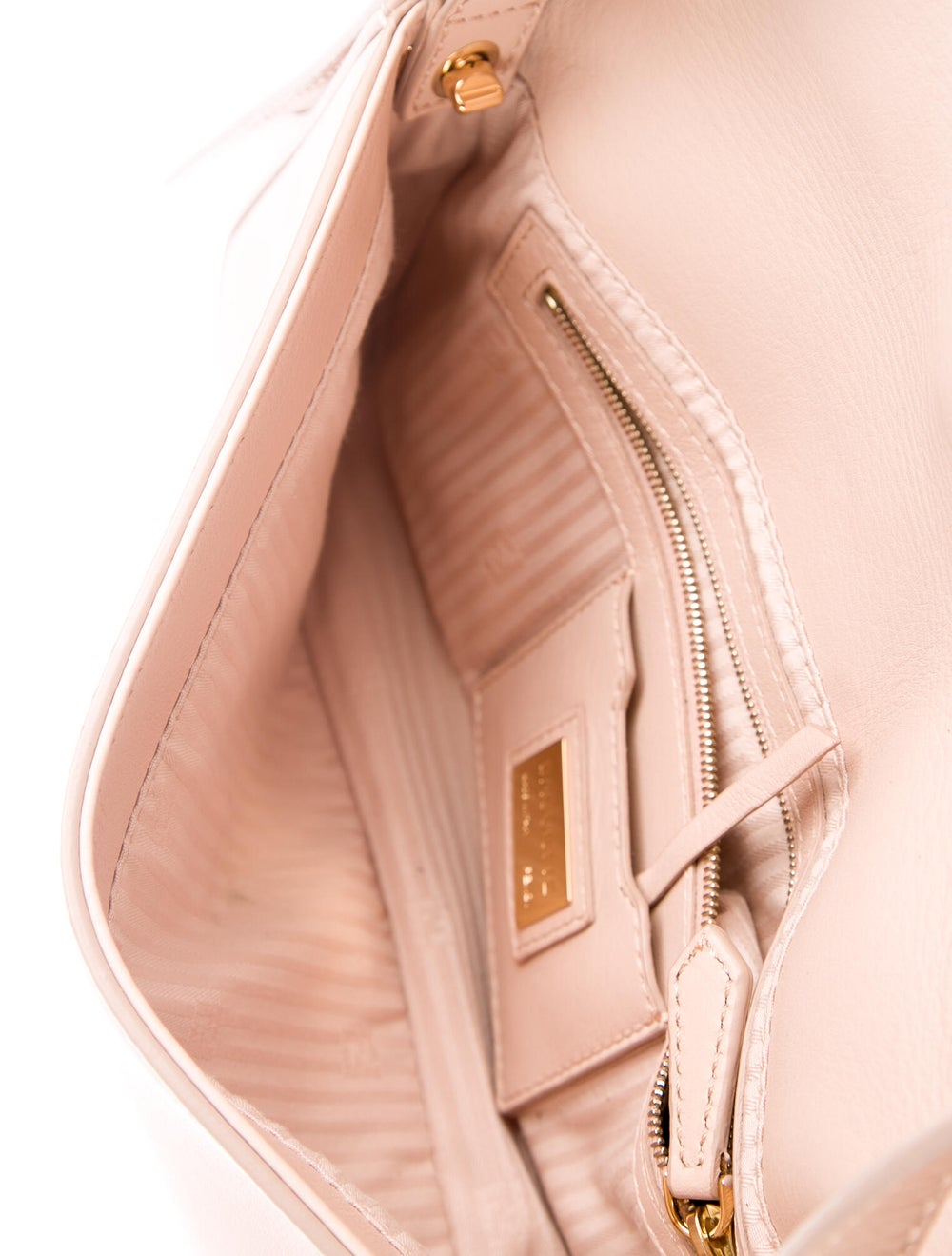 Fendi Smooth Leather Baguette Pink - image 5