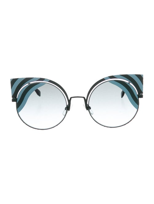 Fendi Cat-Eye Tinted SUnglasses