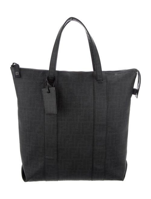 Fendi Zucca FF Tote Bag Black