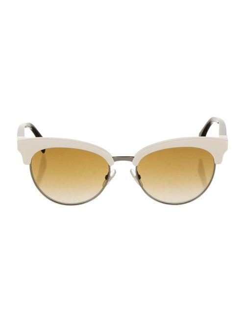 Fendi Gradient Cat-Eye Sunglasses brown