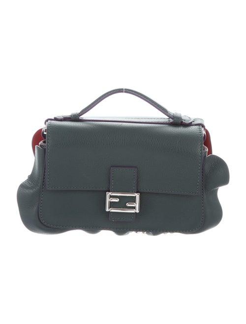 Fendi Micro Double Baguette Bag Green