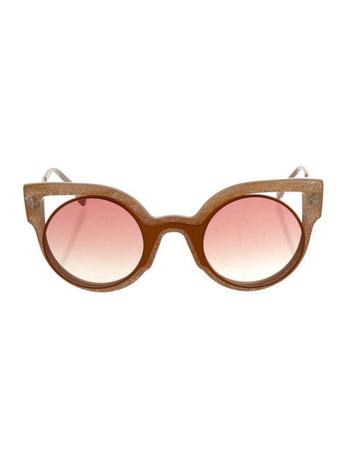 Fendi Cat-Eye Tinted Sunglasses Pink