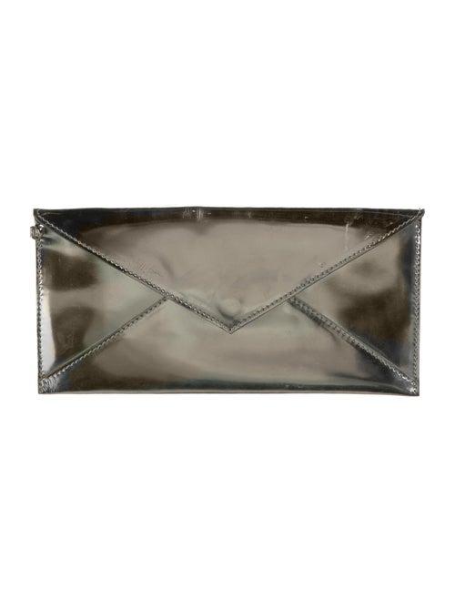 Fendi Metallic Envelope Pouch Metallic