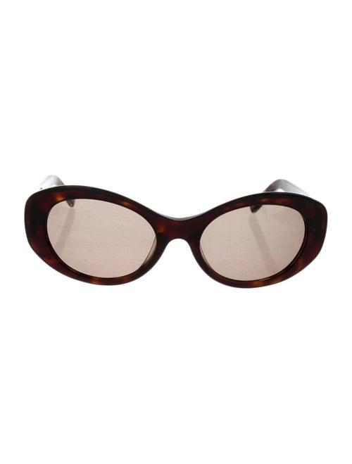Fendi FF Round Sunglasses Brown