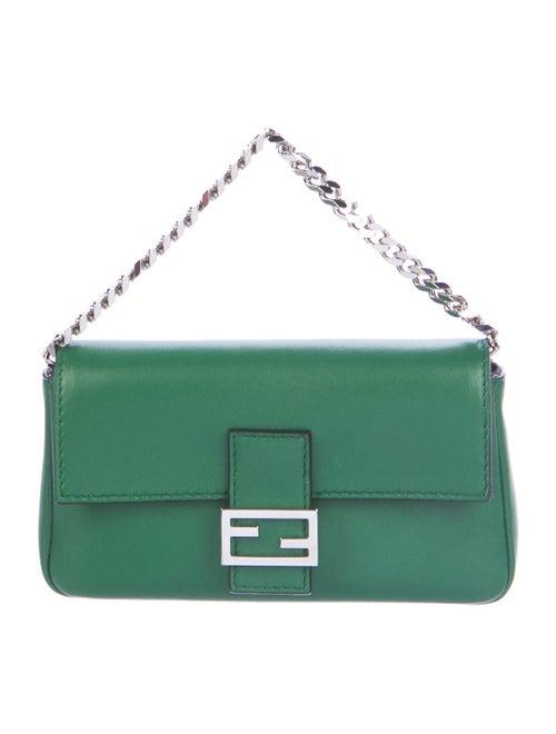 Fendi Micro Baguette Bag Green