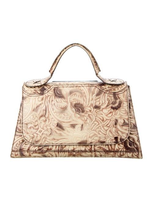 Fendi Toile de Jouy Top Handle Frame Bag