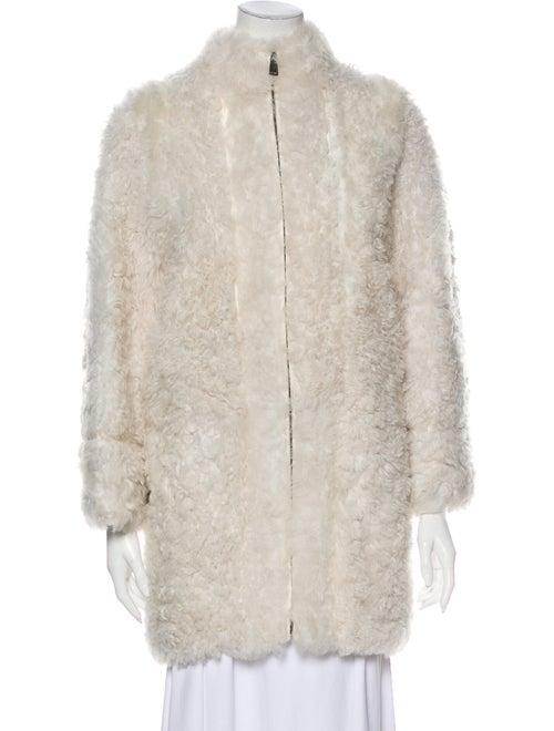 Fendi Faux Fur Coat