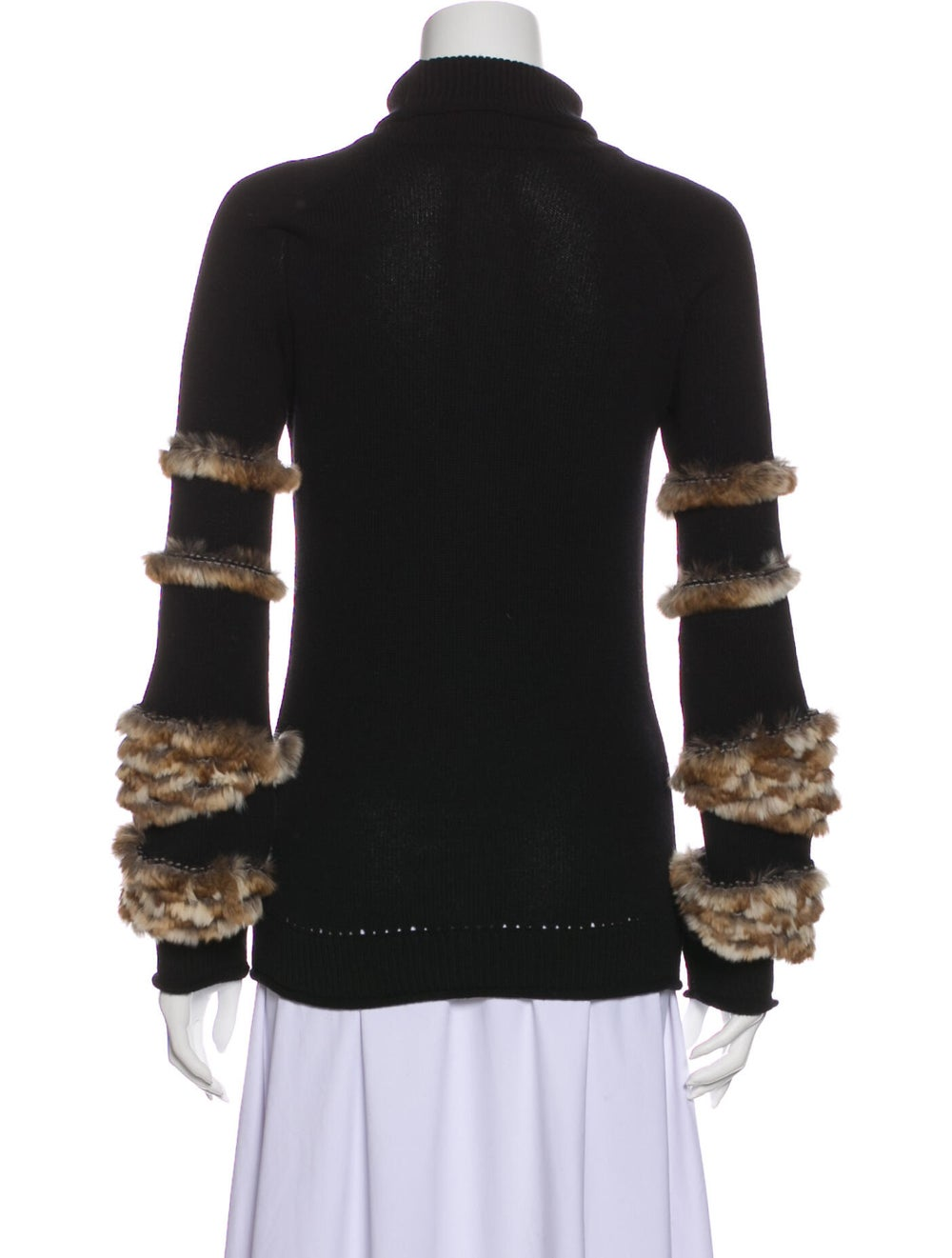 Fendi Cashmere Turtleneck Sweater Black - image 3