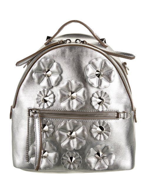 Fendi Metallic Crossbody Bag Metallic