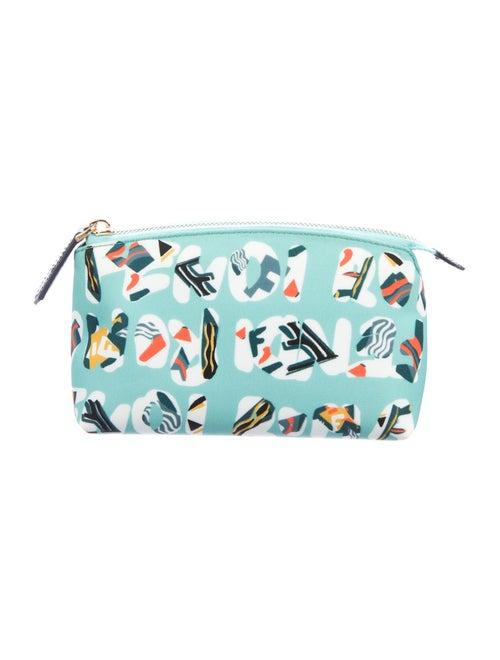 Fendi Logo Cosmetic Bag multicolor