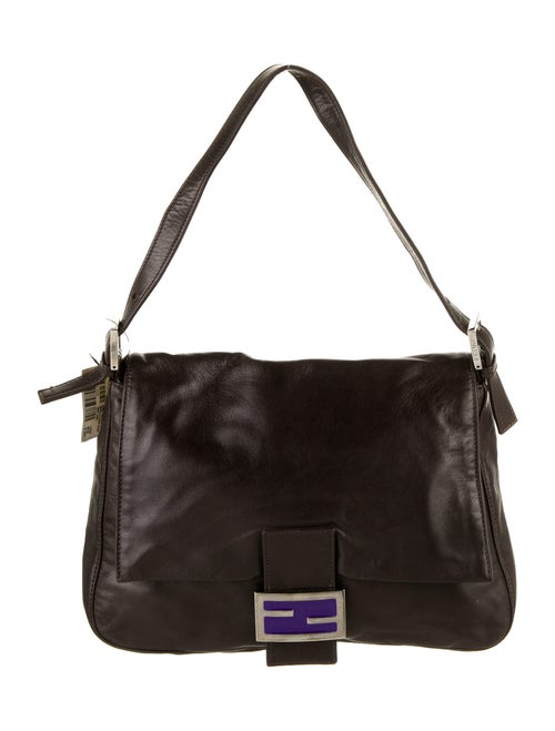Fendi Vintage Leather Mama Forever Bag Brown