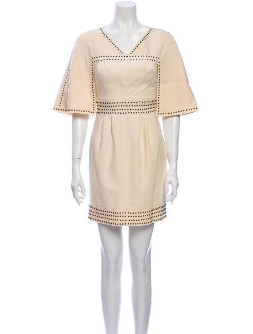 Fendi Wool Mini Dress Wool