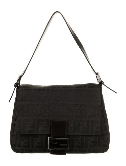 Fendi Zucca Mama Forever Bag Black