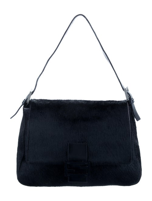Fendi Ponyhair Mama Forever Bag Black