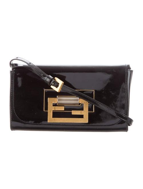 Fendi Baguette Shoulder Bag Black