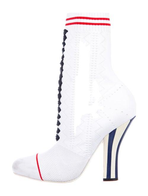 Fendi Sock Boots White