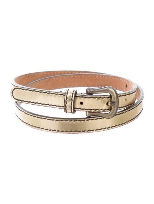 Fendi Metallic Waist Belt Metallic
