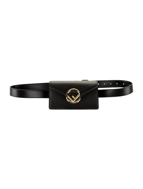 Fendi 2019 Logo Belt Bag Black
