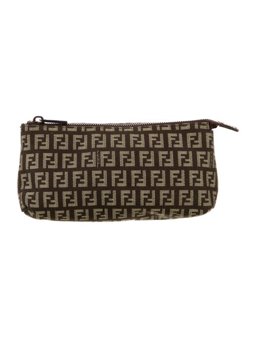 Fendi Zucca Cosmetic Bag Brown
