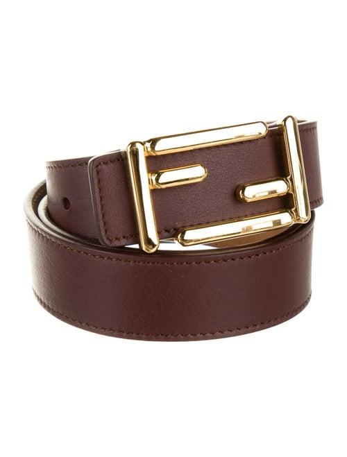 Fendi Leather Hip Belt gold