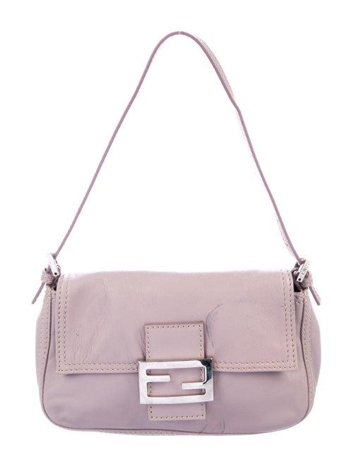Fendi Mini Baguette Bag Purple