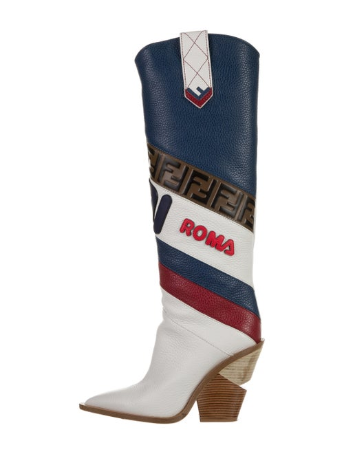 Fendi 2018 Mania Boots White