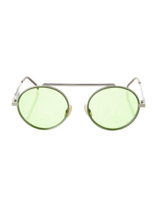 Fendi Round Tinted Sunglasses - image 1